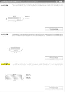 Scheda Tecnica Tetris T107